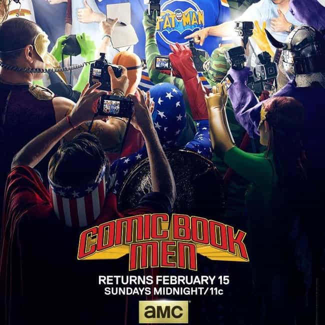 Comic Book Men - Season 4 is listed (or ranked) 4 on the list Ranking the Best Seasons of 'Comic Book Men'