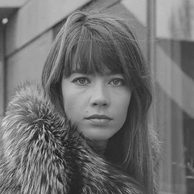 Françoise Hardy ... is listed (or ranked) 2 on the list The All Time Greatest Muses in the Music World