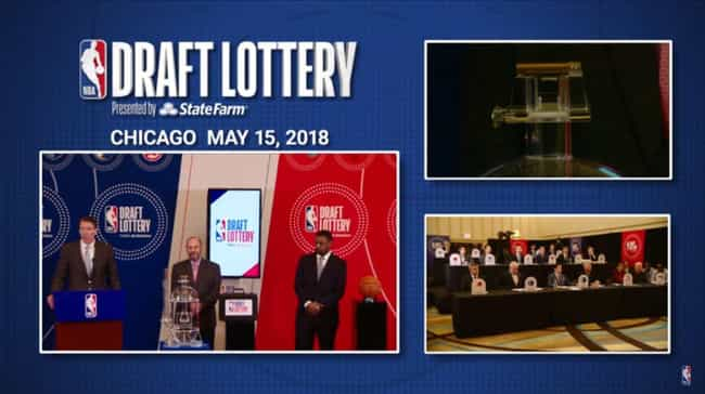 The Countdown Timer Is Surpris... is listed (or ranked) 4 on the list Strange Facts And Rules Governing The NBA Draft Lottery