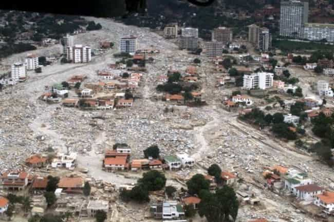 1999 Vargas Tragedy is listed (or ranked) 1 on the list The Worst Mudslides in History