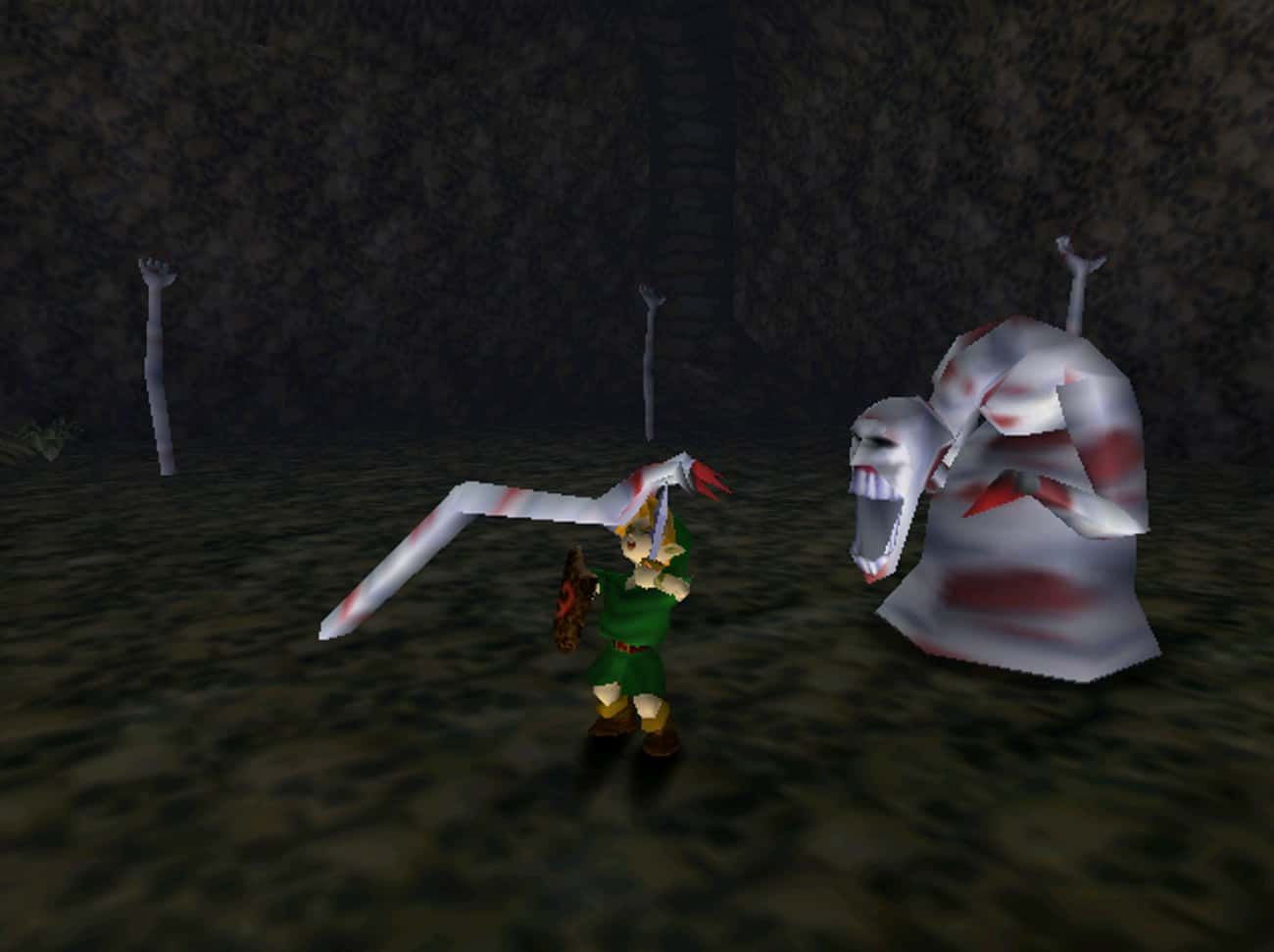Dead Hand - 'The Legend Of is listed (or ranked) 2 on the list The Creepiest Nintendo Characters That Will Haunt Your Dreams