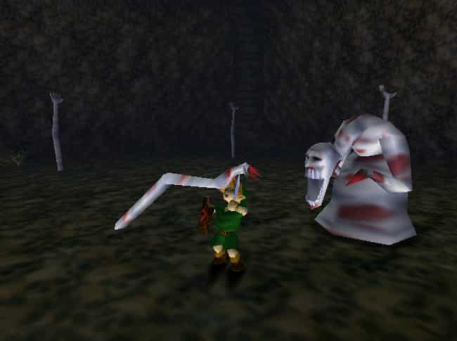 Dead Hand - 'The Legend Of... is listed (or ranked) 2 on the list The Creepiest Nintendo Characters That Will Haunt Your Dreams