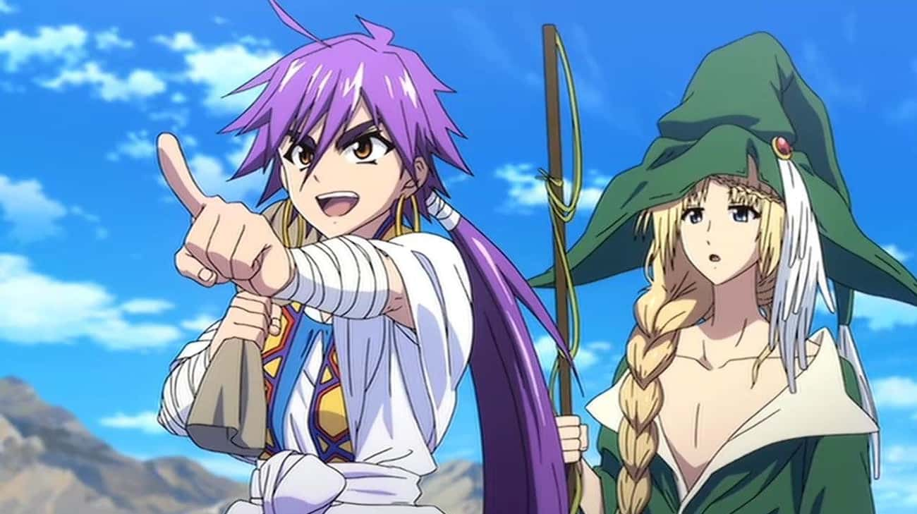Magi: Adventure Of Sinbad is listed (or ranked) 3 on the list The 20 Best Netflix Exclusive Anime