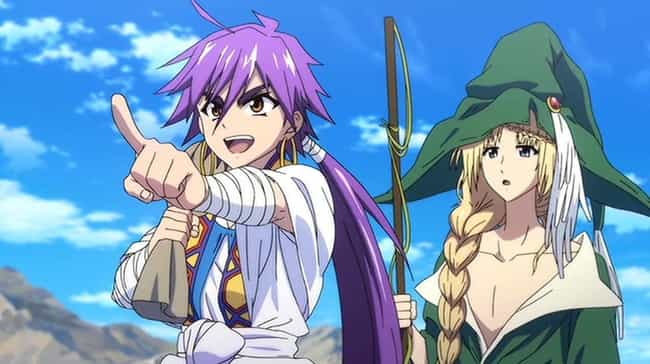 Magi: Adventure Of Sinbad is listed (or ranked) 3 on the list The 17 Best Netflix Exclusive Anime