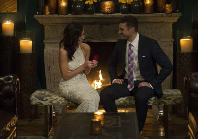 Becca Gave The Rose To Garrett... is listed (or ranked) 1 on the list 13 Times Bachelors Or Bachelorettes Regretted Their First Impression Rose