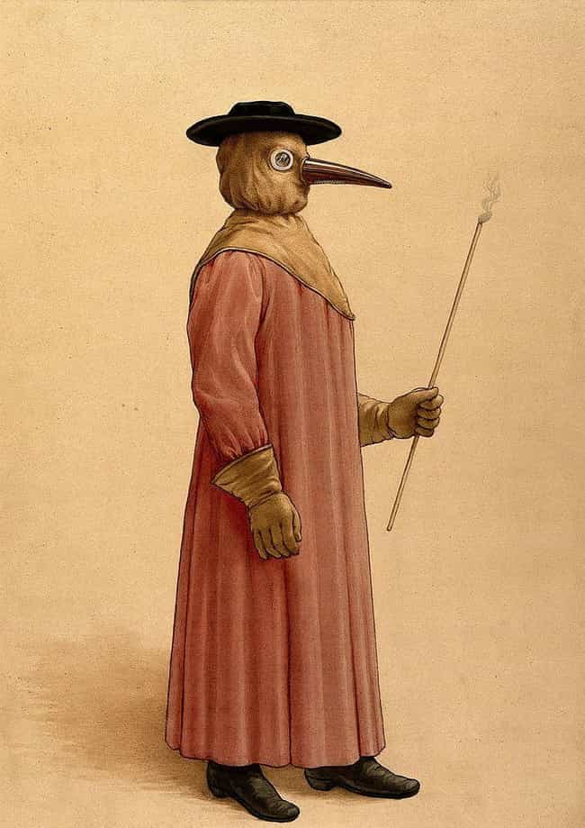 A Plague Doctor Stops Yo... is listed (or ranked) 4 on the list An Average Day In The Life Of A 14th-Century Plague Victim