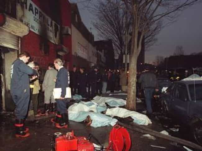 1990 Happy Land Nightclub Fire is listed (or ranked) 1 on the list The Worst Arson Attacks in History