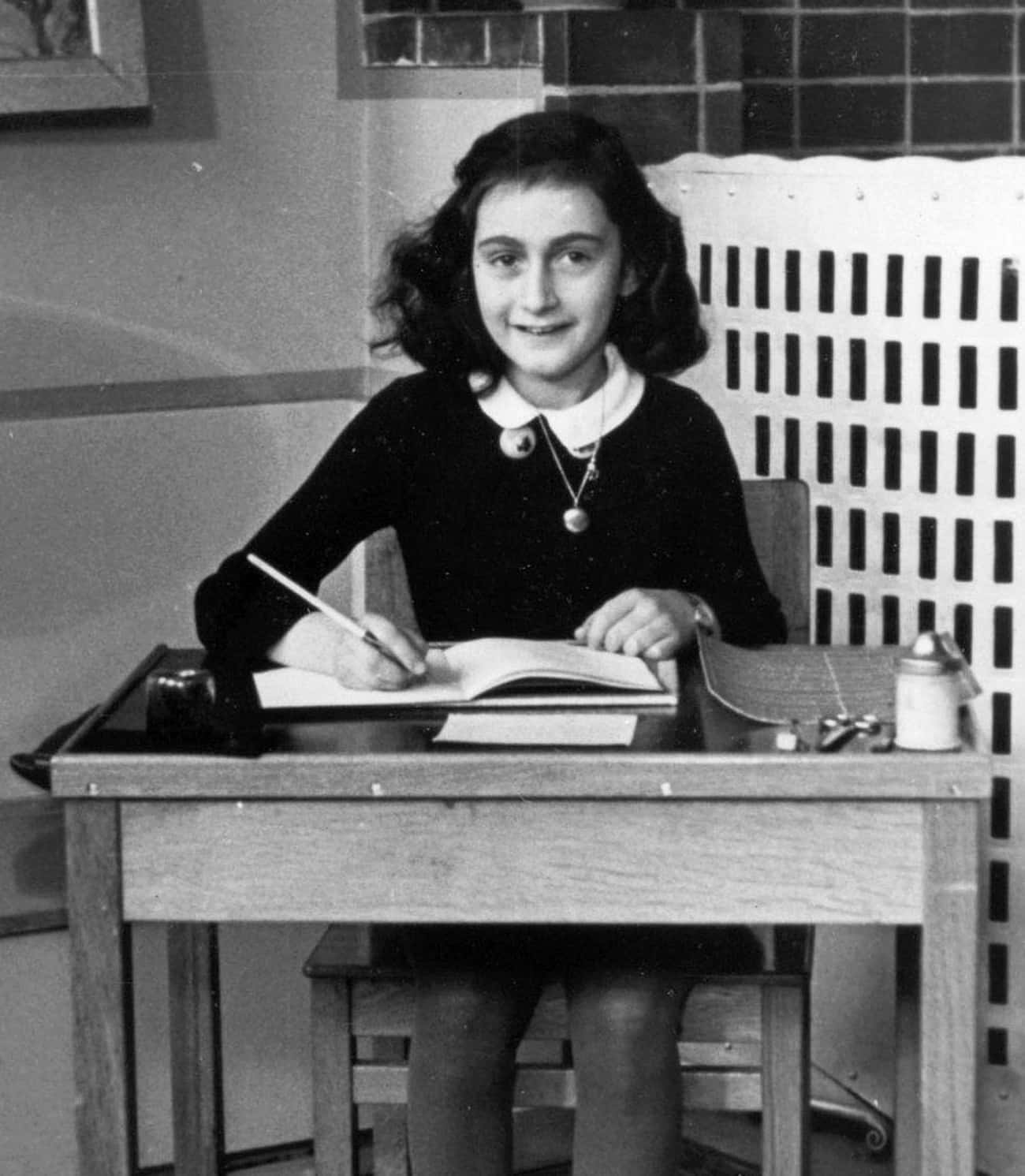 The European Copyright On The  is listed (or ranked) 3 on the list The Complicated History Of Anne Frank's Diary