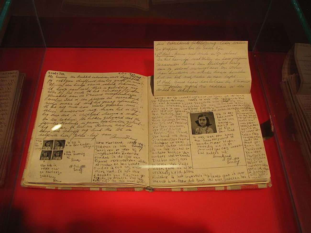 Otto Frank Omitted Five Pages  is listed (or ranked) 2 on the list The Complicated History Of Anne Frank's Diary