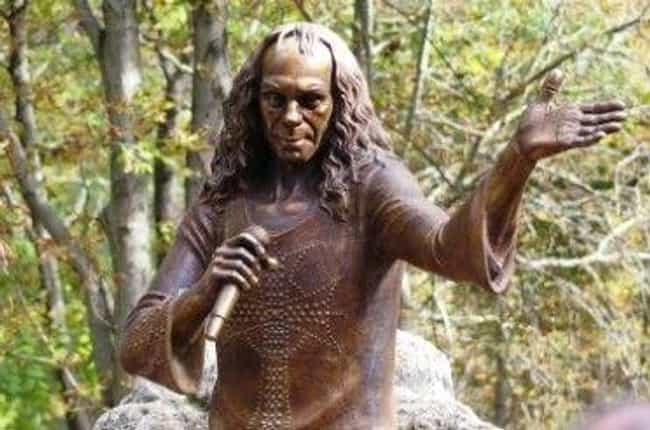 Despite His Intense Persona, H... is listed (or ranked) 10 on the list 11 Myths About Ronnie James Dio Debunked