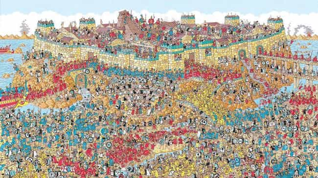 It Takes Eight Weeks To Produc... is listed (or ranked) 2 on the list Things You Didn't Know About Where's Waldo?