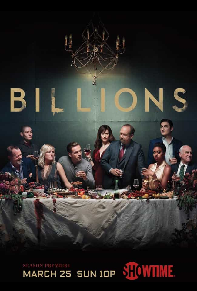 Billions - Season 3 is listed (or ranked) 3 on the list The Best Seasons of 'Billions'