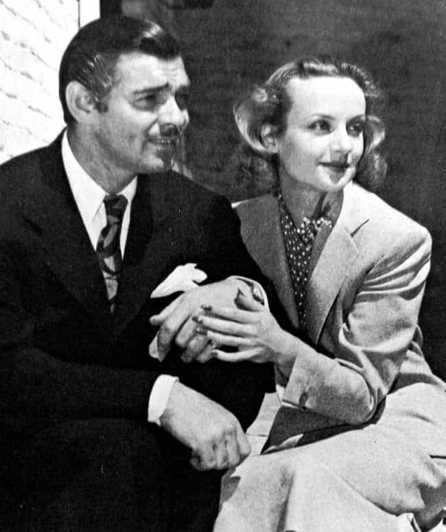 Clark Gable Was The Love... is listed (or ranked) 4 on the list The Glamorous And Tragically Short Life Of Hollywood Starlet Carole Lombard