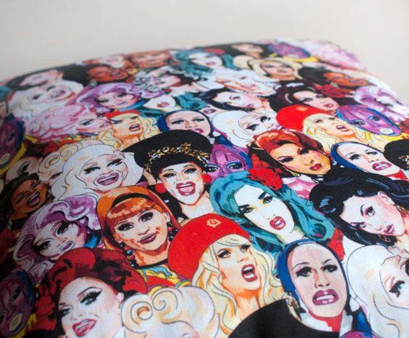 Queen Covers is listed (or ranked) 1 on the list Fabulous Fan Art For 'RuPaul's Drag Race'