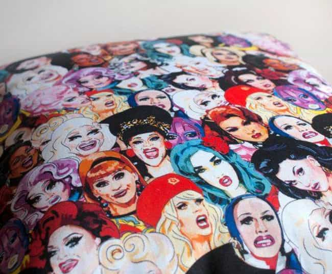 Queen Covers is listed (or ranked) 2 on the list Fabulous Fan Art For 'RuPaul's Drag Race'