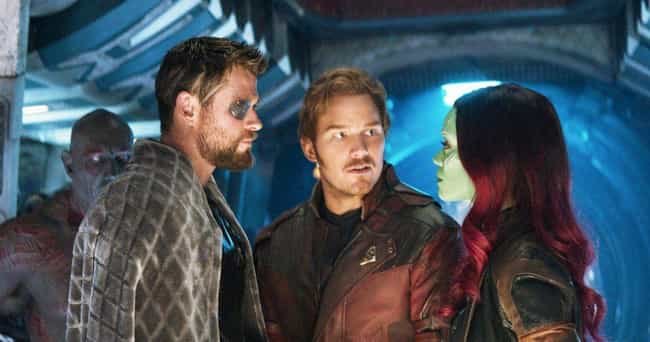 He Shows The Worst Traits Of T... is listed (or ranked) 6 on the list Star-Lord Was A Villain Long Before His Defining Moment In 'Infinity War'