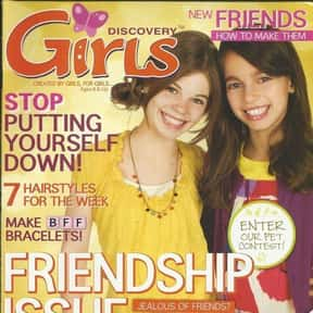 Discovery Girls is listed (or ranked) 9 on the list The Very Best Magazines for Teenagers