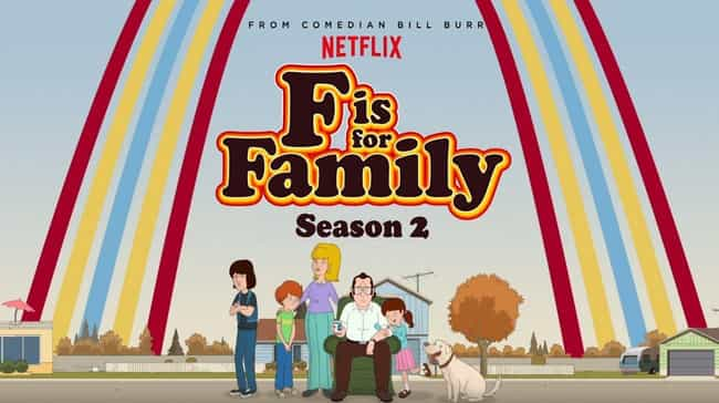 F Is For Family Season 2 is listed (or ranked) 2 on the list Best Seasons of F is for Family