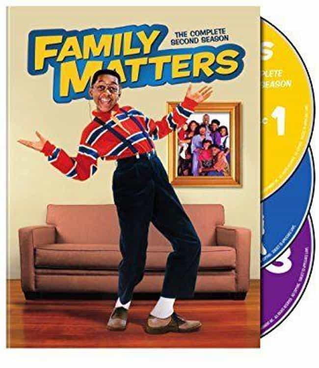 Family Matters Season 2 is listed (or ranked) 1 on the list Best Seasons of Family Matters
