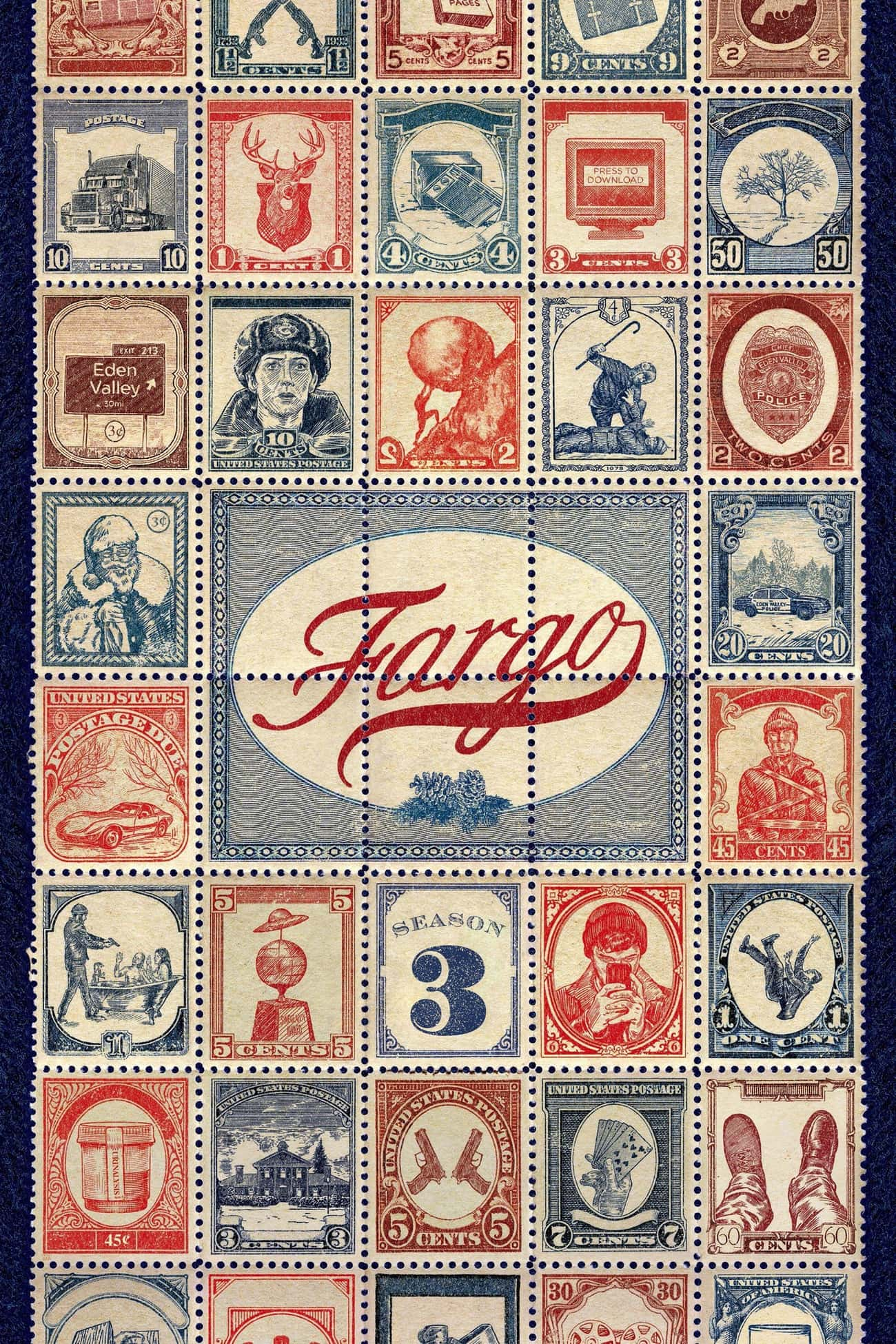 Fargo - Season 3 is listed (or ranked) 3 on the list Best Seasons of 'Fargo'