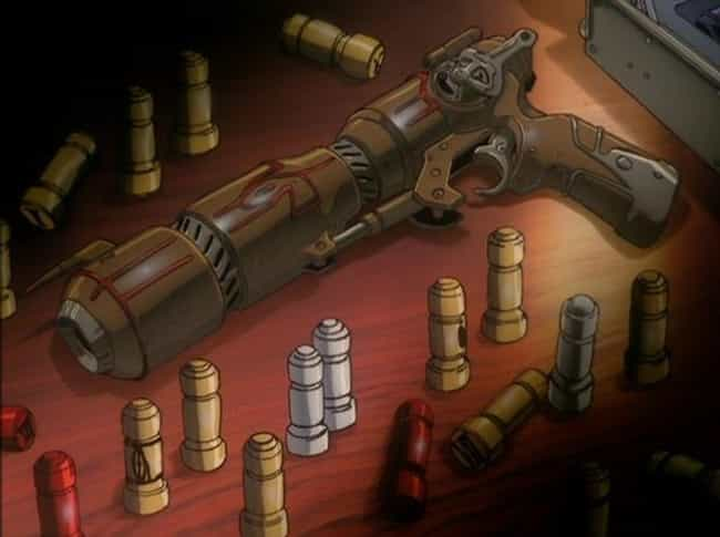 Caster Gun - 'Outlaw Sta... is listed (or ranked) 8 on the list The Most Powerful Weapons In Anime, Ranked By Destructive Force
