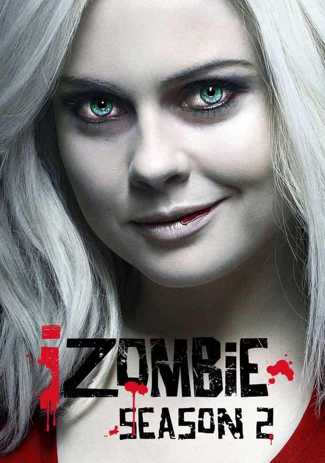 iZombie - Season 2 is listed (or ranked) 1 on the list The Best Seasons of 'iZombie'