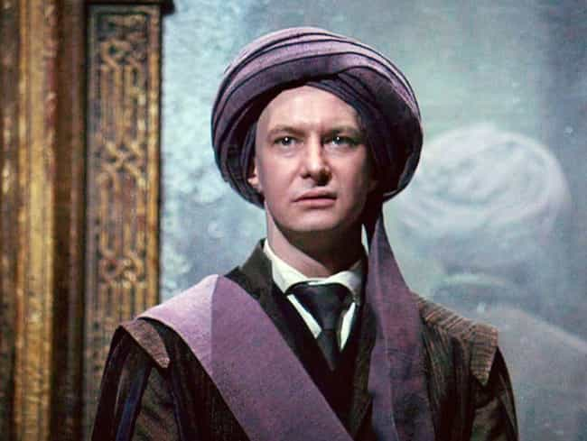 Quirinus Quirrell Is Straight ... is listed (or ranked) 6 on the list All the Historical References In Harry Potter