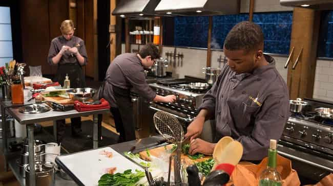 Producers Manipulate Things Fo... is listed (or ranked) 7 on the list 12 Things You Didn't Know About Competing On 'Chopped'