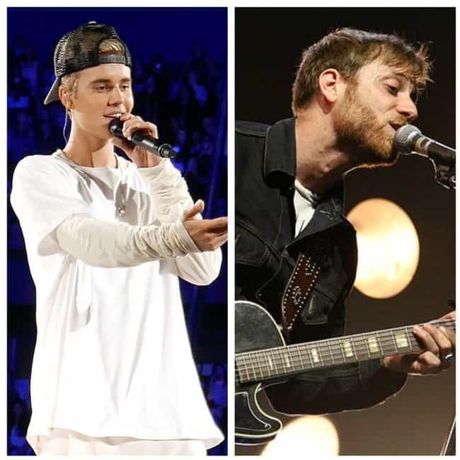 Justin Bieber And The Black Ke... is listed (or ranked) 1 on the list The Weirdest Musical Feuds Ever