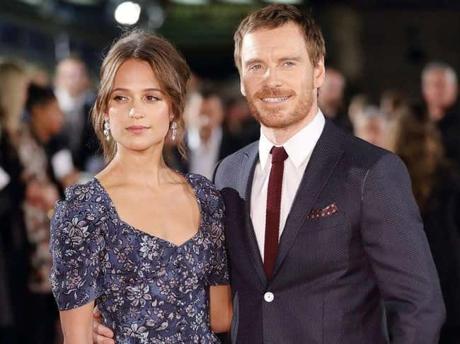 Michael Fassbender & Alicia Vi is listed (or ranked) 48 on the list 48 Famous Couples with Huge Age Differences
