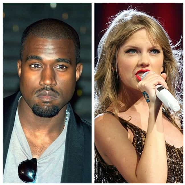 Kanye West And Taylor Swift is listed (or ranked) 4 on the list The Weirdest Musical Feuds Ever