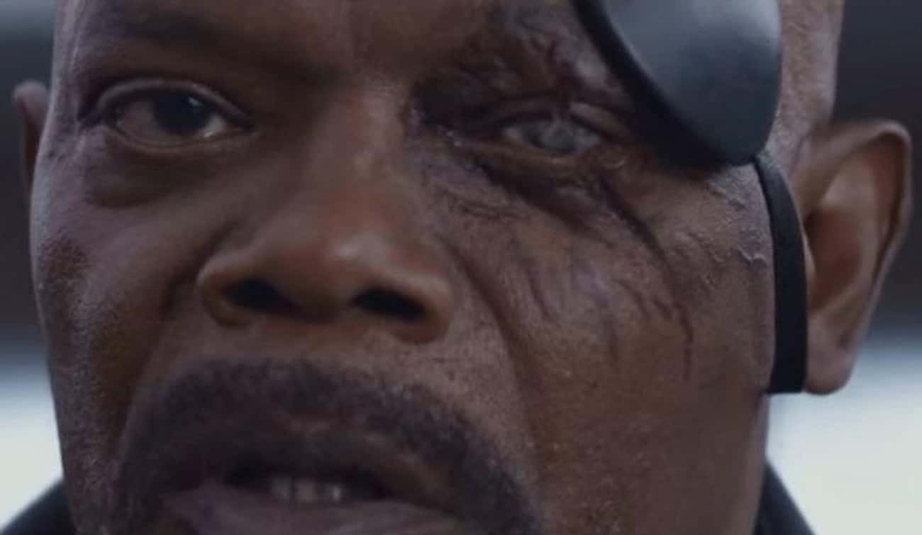 Nick Fury Will Lose His Eye Du is listed (or ranked) 2 on the list Fan Theories About 'Captain Marvel'