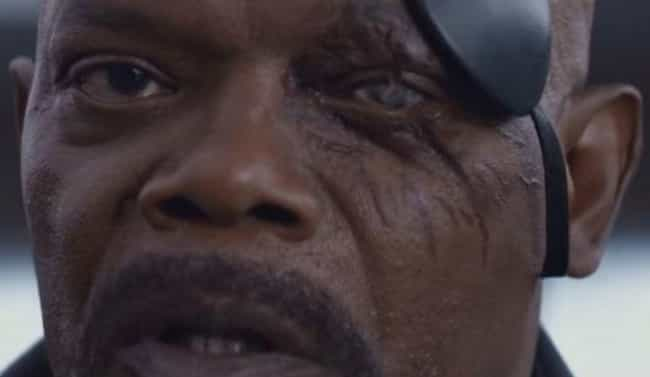 Nick Fury Will Lose His Eye Du... is listed (or ranked) 2 on the list Fan Theories About 'Captain Marvel'