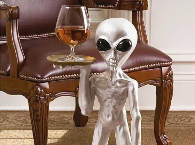 Roswell The Alien Butler is listed (or ranked) 3 on the list The Most Ridiculous Products You Could Actually Buy From SkyMall