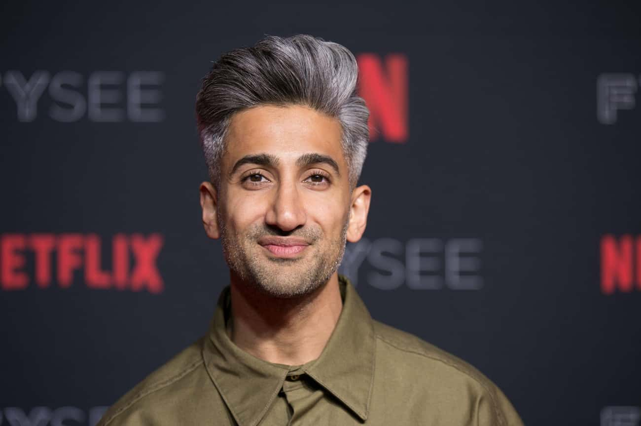 Tan Started Working In His Gra is listed (or ranked) 1 on the list Everything You Wanted To Know About The Fab Five Behind 'Queer Eye'