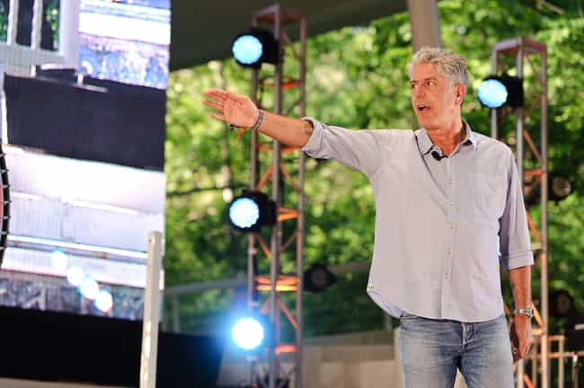 He Personally Chose The Music ... is listed (or ranked) 3 on the list Things You Didn't Know About Anthony Bourdain