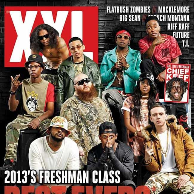 2013 is listed (or ranked) 4 on the list The Best XXL Freshman Classes, Ranked