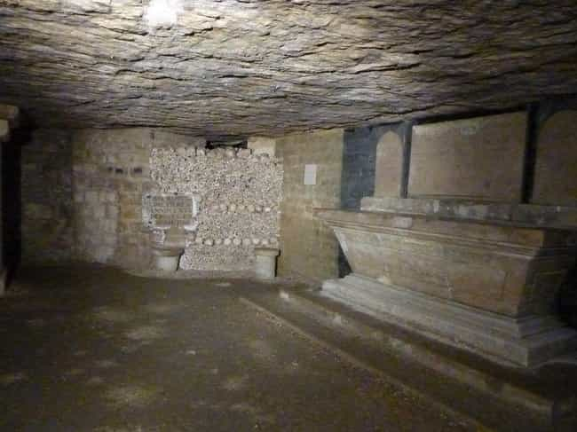 18th-Century Paris Was F... is listed (or ranked) 2 on the list The Paris Catacombs Hide A Secret Cinema Club And Pools, In Addition To Six Million Dead