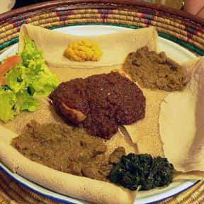 Ethiopian Cuisine is listed (or ranked) 7 on the list The BestPinot GrigioFood Pairings, Ranked