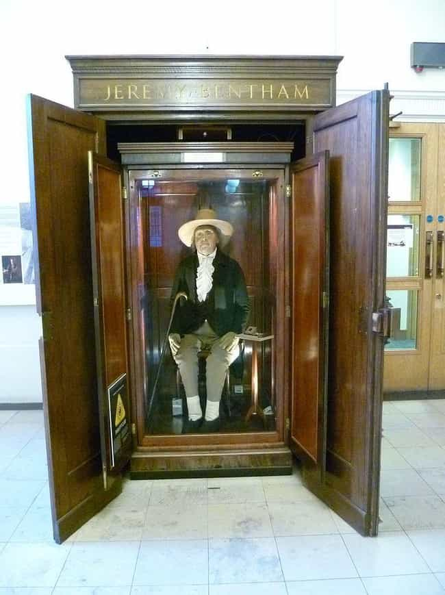 He Wanted His Body Rolle... is listed (or ranked) 1 on the list Jeremy Bentham's Body Has Had One Of The Strangest Afterlives In History