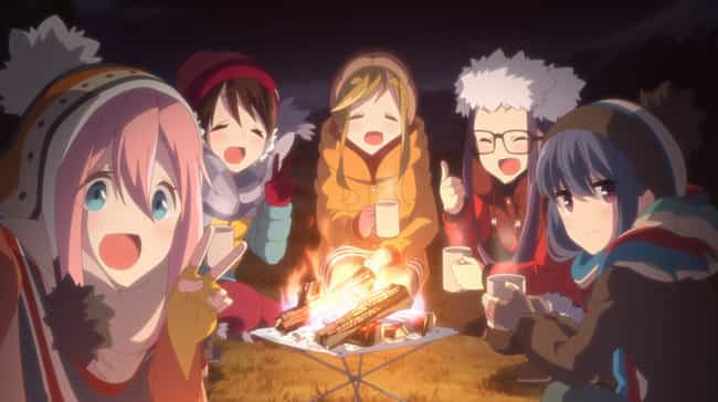 Laid-Back Camp is listed (or ranked) 7 on the list 15 Great Anime With Virtually No Violence