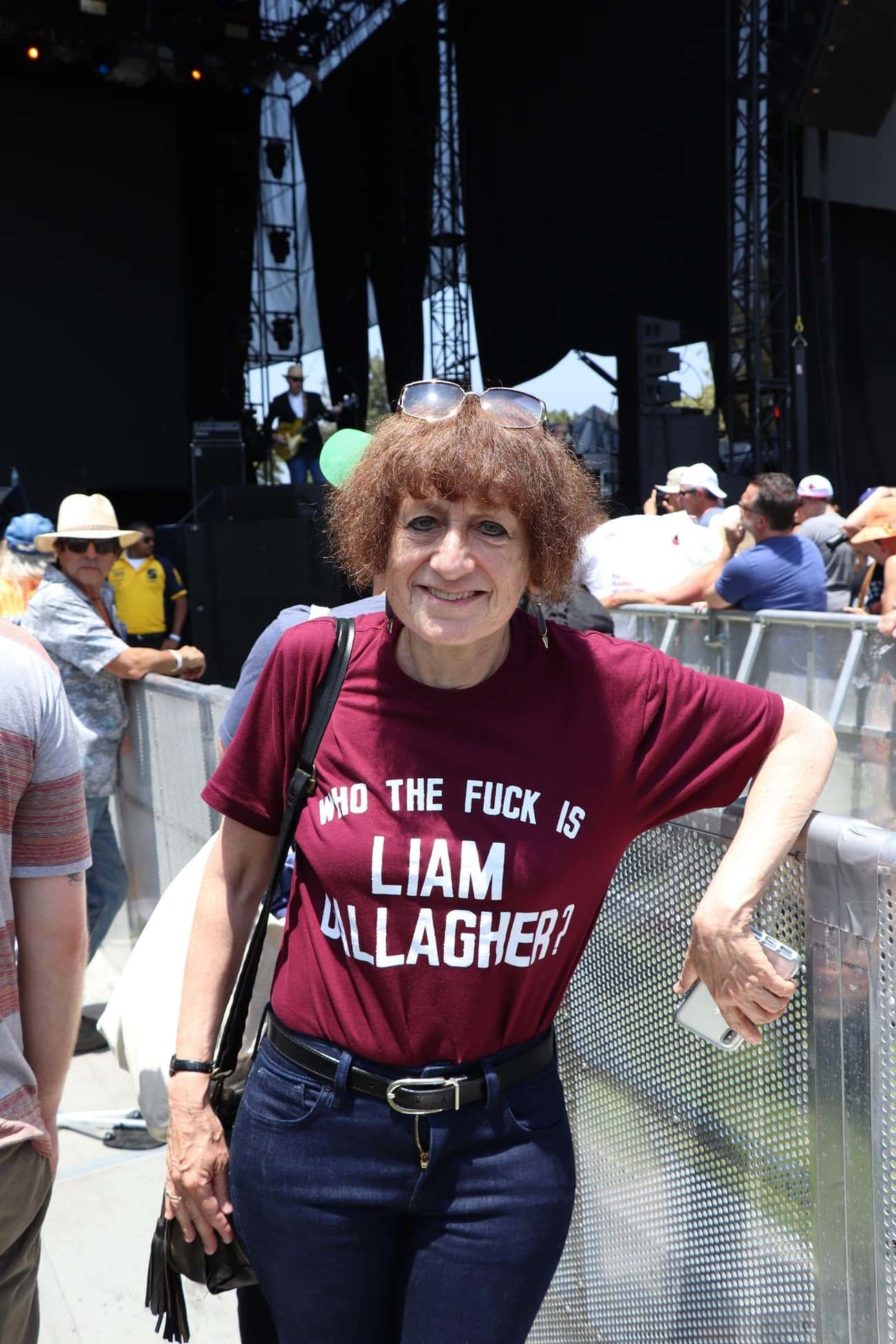 I Don't Know Her is listed (or ranked) 2 on the list The 15 Best T-Shirts We Found At Arroyo Seco Weekend