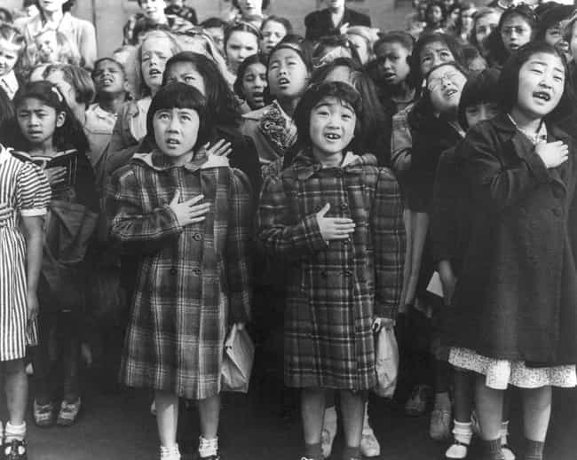 Japanese Internment Camps Forc... is listed (or ranked) 4 on the list The 13 Most Heinous American Policies Towards Children And Families
