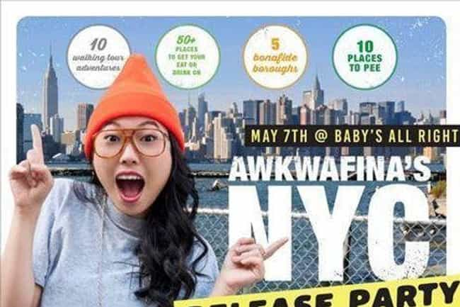 She's A Published Travel Write... is listed (or ranked) 8 on the list Who Is Awkwafina, The Rapper And Actress Appearing In 2018's Biggest Films?