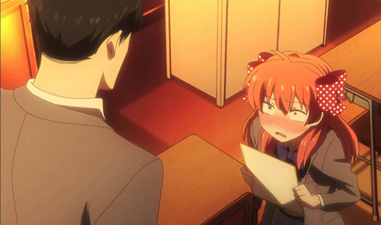 Chiyo Sakura Gets An Autograph is listed (or ranked) 2 on the list The 15 Most Awkward Anime Confessions of All Time