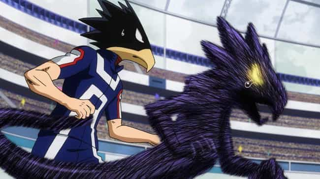 Fumikage Tokoyami - 'My ... is listed (or ranked) 4 on the list The 18 Greatest Kemonomimi Anime Characters (That Aren't Catgirls)