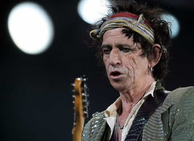 Keith Richards Snorted His Fat... is listed (or ranked) 1 on the list Creepy Music Myths That Are Actually True