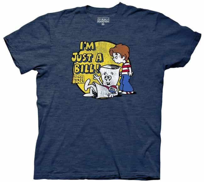 Schoolhouse Rock 'I'm ... is listed (or ranked) 2 on the list The Coolest Exclusive Comic-Con 2018 Merchandise You Can Only Get In San Diego