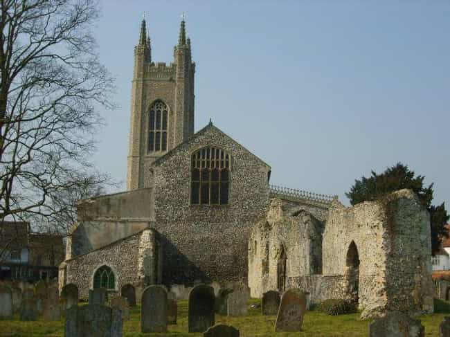 Churchgoers Attributed A... is listed (or ranked) 2 on the list The Black Shuck - England's Legendary Hellhound