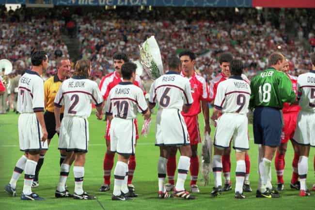 A Handshake Nearly Derailed Th... is listed (or ranked) 2 on the list The Intense Politically Charged History Of The 1998 U.S./Iran World Cup